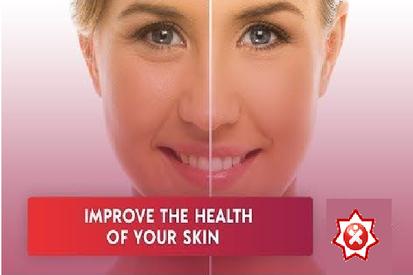 A picture of a woman shows effect of infrared on rejuvenation in a fitness studio
